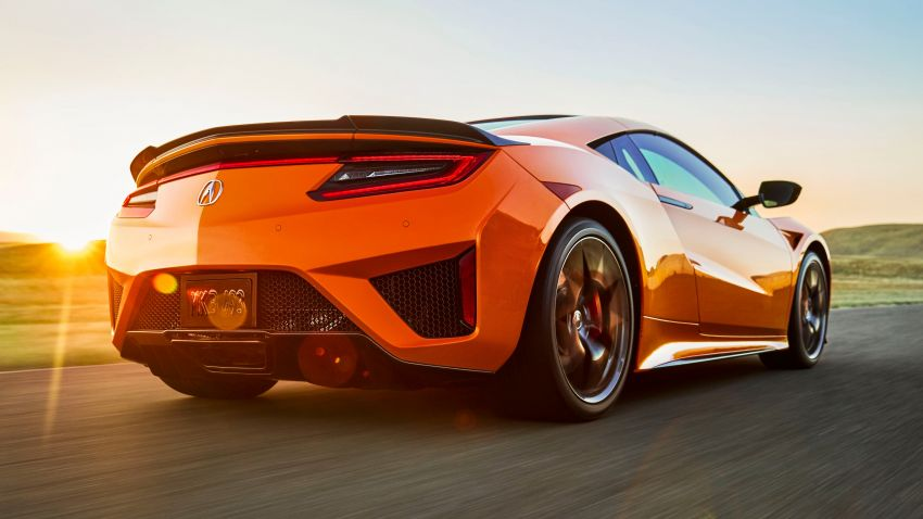 2019 Acura NSX debuts at Monterey – revised styling, more equipment; from RM645,251 in the United States Image #855586