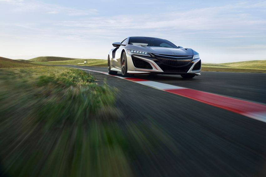 2019 Acura NSX debuts at Monterey – revised styling, more equipment; from RM645,251 in the United States Image #855587