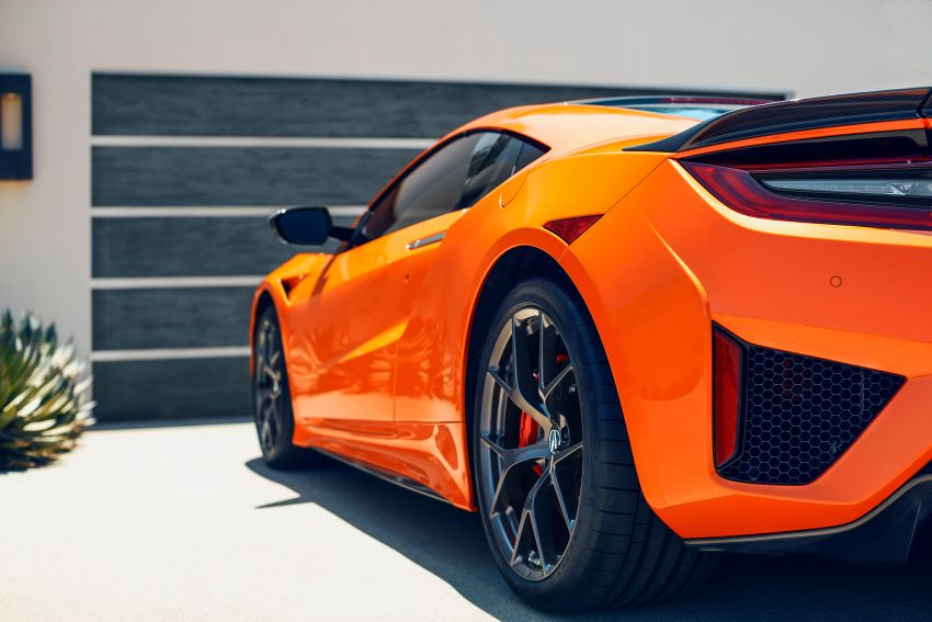 2019 Acura NSX debuts at Monterey – revised styling, more equipment; from RM645,251 in the United States Image #855588