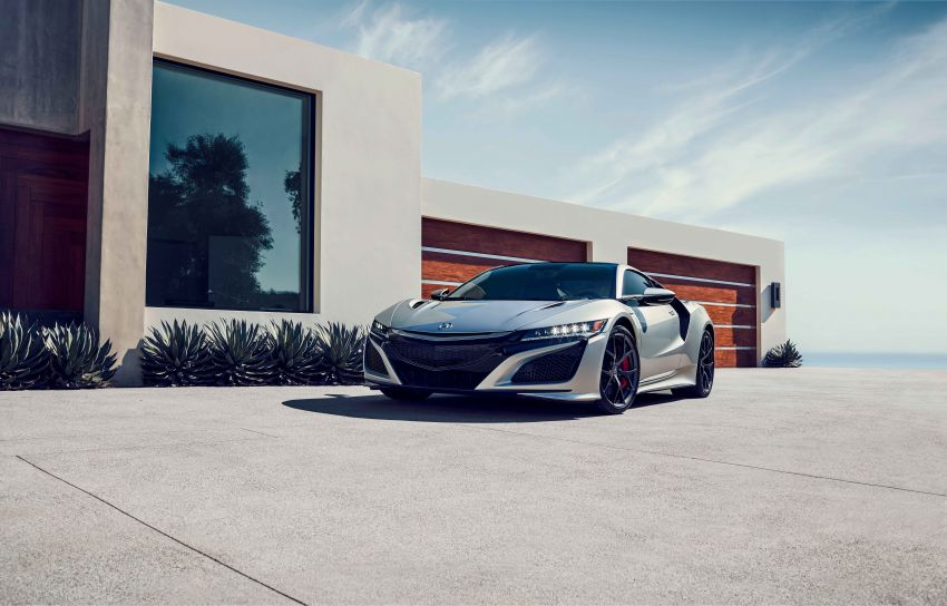 2019 Acura NSX debuts at Monterey – revised styling, more equipment; from RM645,251 in the United States Image #855593