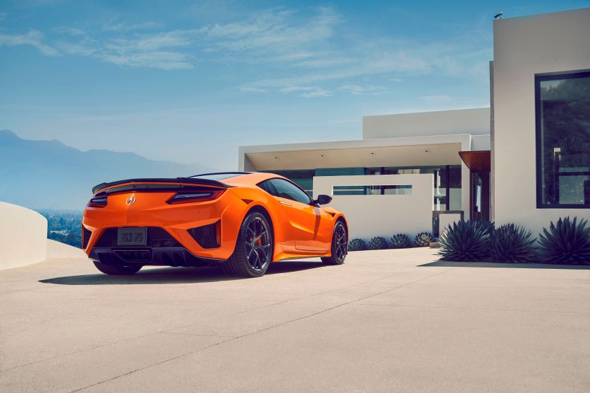 2019 Acura NSX debuts at Monterey – revised styling, more equipment; from RM645,251 in the United States Image #855601