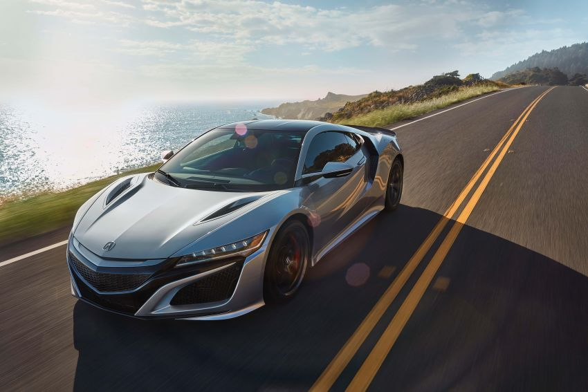 2019 Acura NSX debuts at Monterey – revised styling, more equipment; from RM645,251 in the United States Image #855616