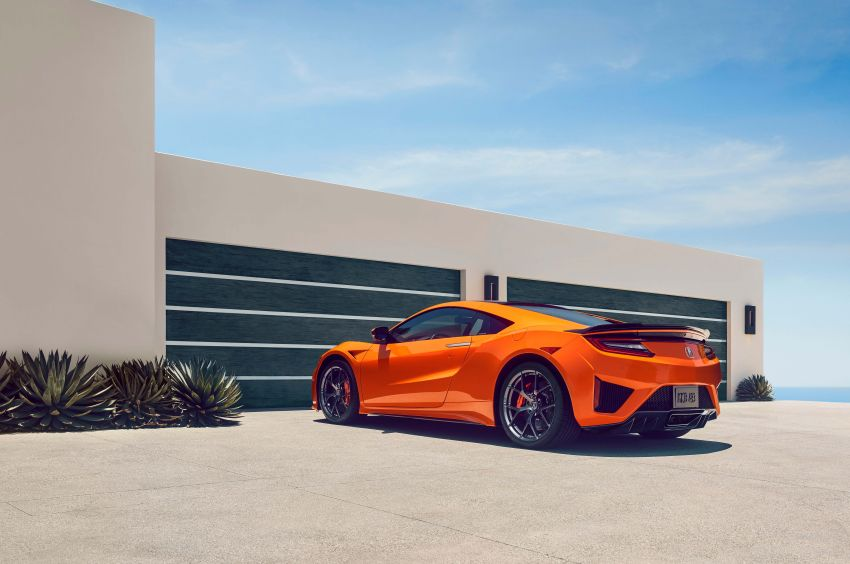2019 Acura NSX debuts at Monterey – revised styling, more equipment; from RM645,251 in the United States Image #855617