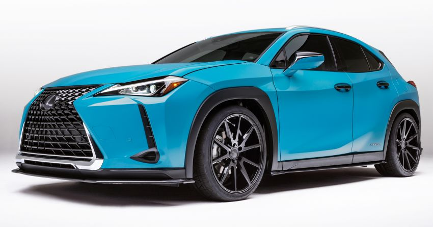 Lexus LC Inspiration Concept & custom UX250h debut Image #854246