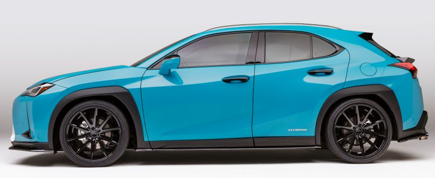 Lexus LC Inspiration Concept & custom UX250h debut Image #854247