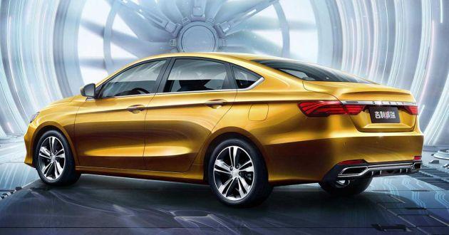Geely Binrui - new C-segment sedan gets full active safety