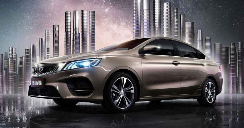 Geely Binrui – new C-segment sedan gets full active safety features, turbo engines; next Proton Preve? Image #848912