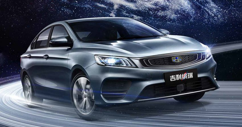 Geely Binrui – new C-segment sedan gets full active safety features, turbo engines; next Proton Preve? Image #848914
