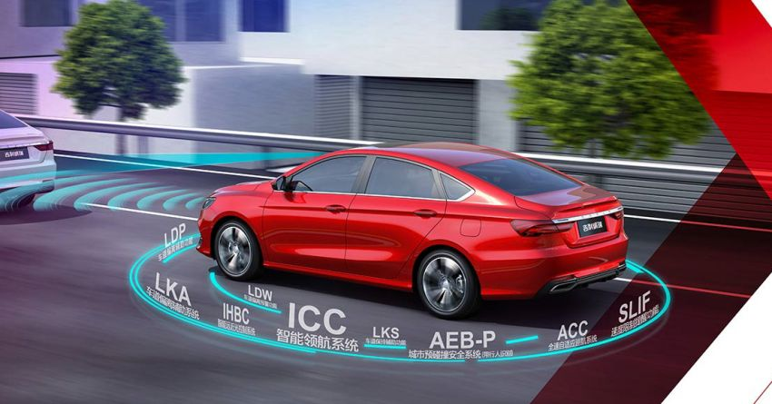 Geely Binrui – new C-segment sedan gets full active safety features, turbo engines; next Proton Preve? Image #848901