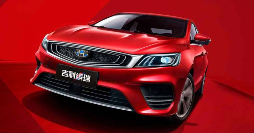 Geely Binrui – new C-segment sedan gets full active safety features, turbo engines; next Proton Preve? Image #848905
