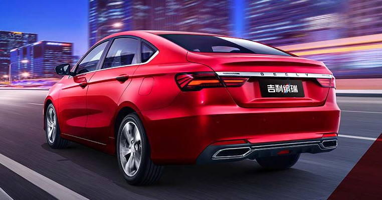 Geely Binrui – new C-segment sedan gets full active safety features, turbo engines; next Proton Preve? Image #848906