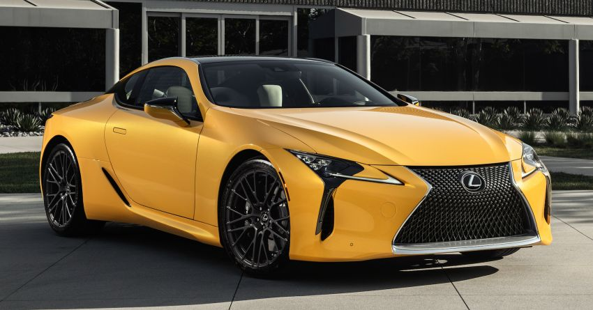 Lexus LC Inspiration Concept & custom UX250h debut Image #854262