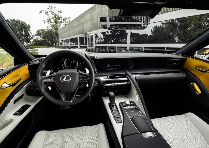 Lexus LC Inspiration Concept & custom UX250h debut Image #854264