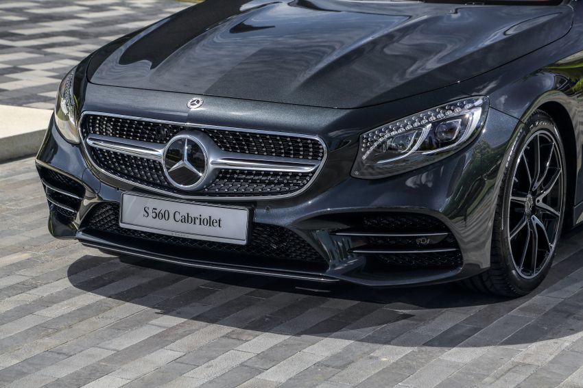 Mercedes-Benz S560 Cabriolet and AMG S63 Coupé facelifts launched in Malaysia – from RM1.3 million Image #845550