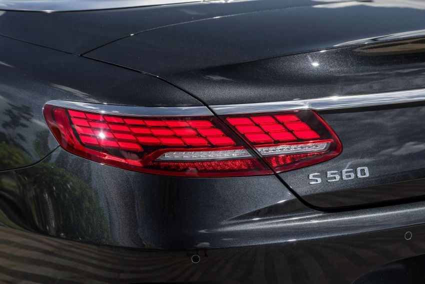 Mercedes-Benz S560 Cabriolet and AMG S63 Coupé facelifts launched in Malaysia – from RM1.3 million Image #845554