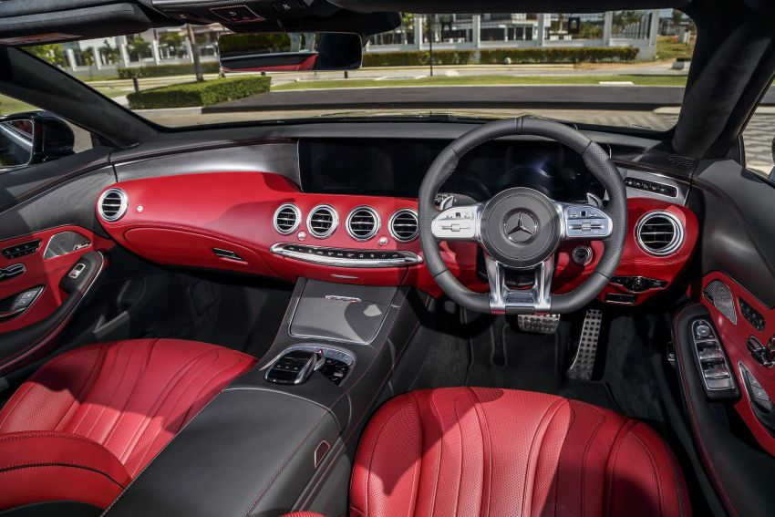 Mercedes-Benz S560 Cabriolet and AMG S63 Coupé facelifts launched in Malaysia – from RM1.3 million Image #845557