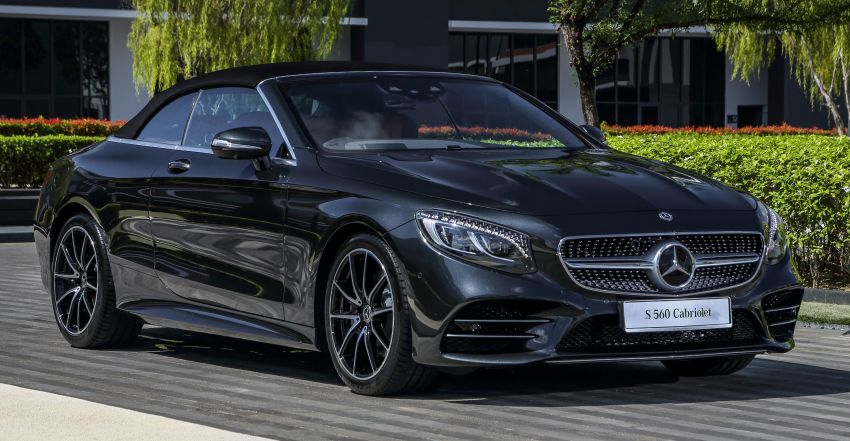 Mercedes-Benz S560 Cabriolet and AMG S63 Coupé facelifts launched in Malaysia – from RM1.3 million Image #845540