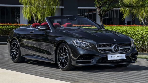 mercedes-benz s560 cabriolet and amg s63 coupé facelifts launched in