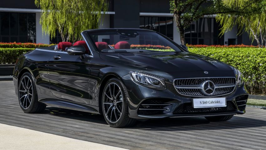 Mercedes-Benz S560 Cabriolet and AMG S63 Coupé facelifts launched in Malaysia – from RM1.3 million Image #845541