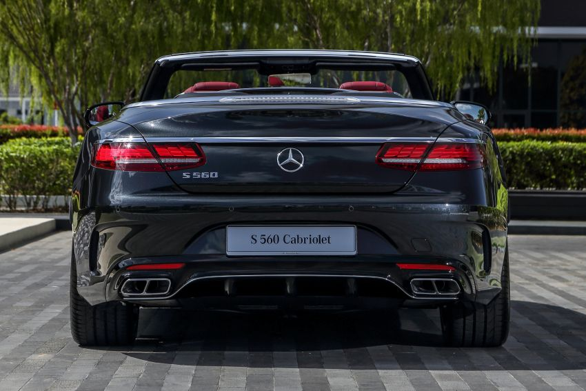 Mercedes-Benz S560 Cabriolet and AMG S63 Coupé facelifts launched in Malaysia – from RM1.3 million Image #845543