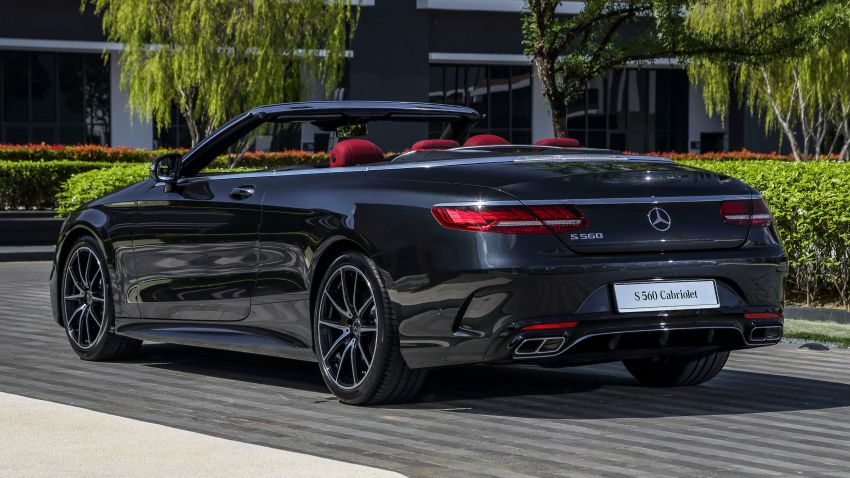 Mercedes-Benz S560 Cabriolet and AMG S63 Coupé facelifts launched in Malaysia – from RM1.3 million Image #845546