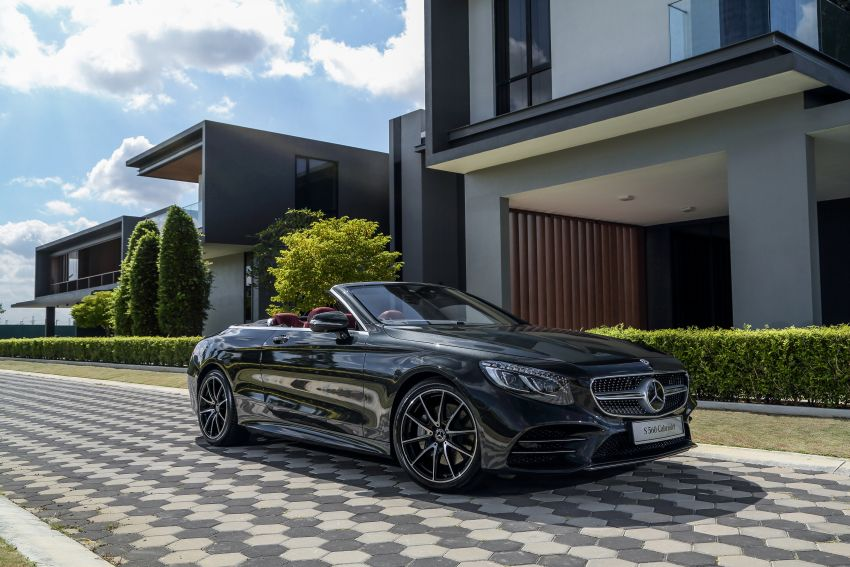 Mercedes-Benz S560 Cabriolet and AMG S63 Coupé facelifts launched in Malaysia – from RM1.3 million Image #845547
