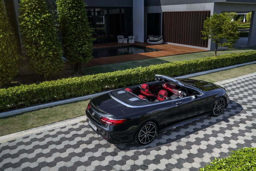 Mercedes-Benz S560 Cabriolet and AMG S63 Coupé facelifts launched in Malaysia – from RM1.3 million Image #845548