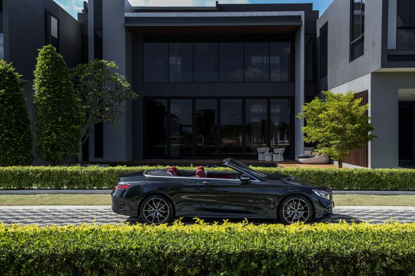 Mercedes-Benz S560 Cabriolet and AMG S63 Coupé facelifts launched in Malaysia – from RM1.3 million Image #845549