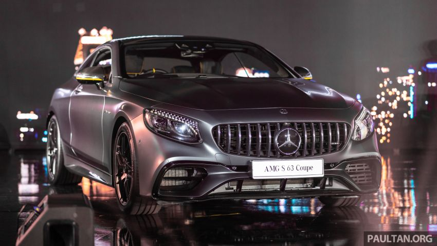 Mercedes-Benz S560 Cabriolet and AMG S63 Coupé facelifts launched in Malaysia – from RM1.3 million Image #846238