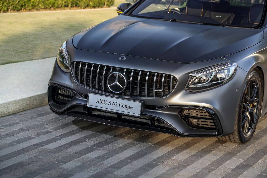 Mercedes-Benz S560 Cabriolet and AMG S63 Coupé facelifts launched in Malaysia – from RM1.3 million Image #845571