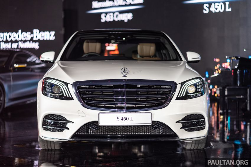 W222 Mercedes-Benz S-Class facelift launched in Malaysia – S450 L, 9G-Tronic, 3.0L V6, RM699,888 Image #846285