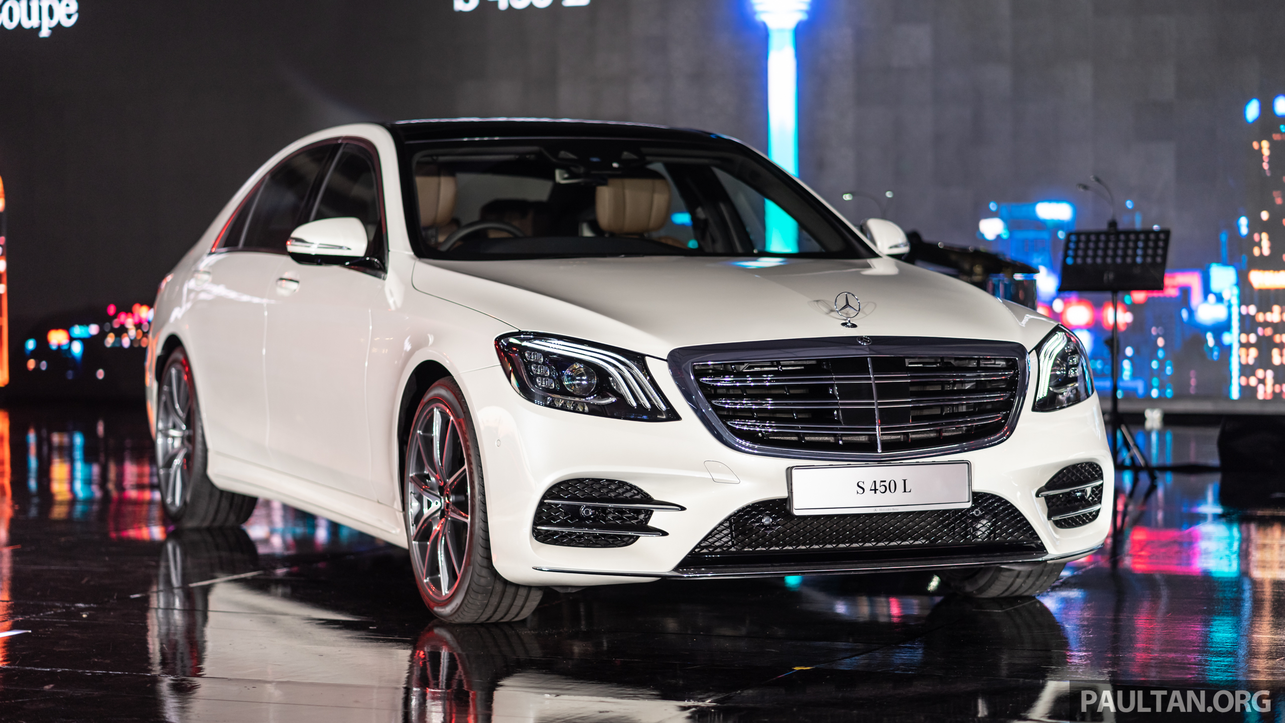 W222 Mercedes Benz S Class Facelift Launched In Malaysia S450 L 9g
