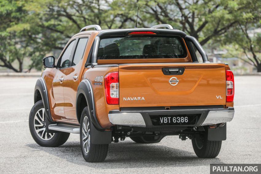 GALLERY: Nissan Navara VL Plus – top spec, RM120k Image #853729