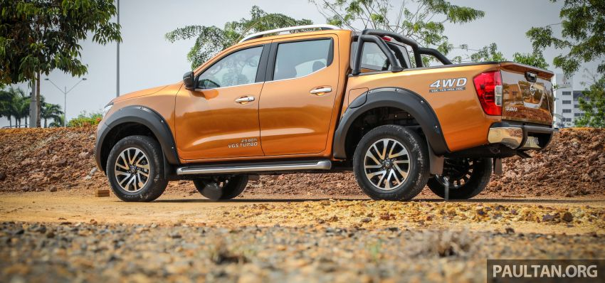 GALLERY: Nissan Navara VL Plus – top spec, RM120k Image #853721