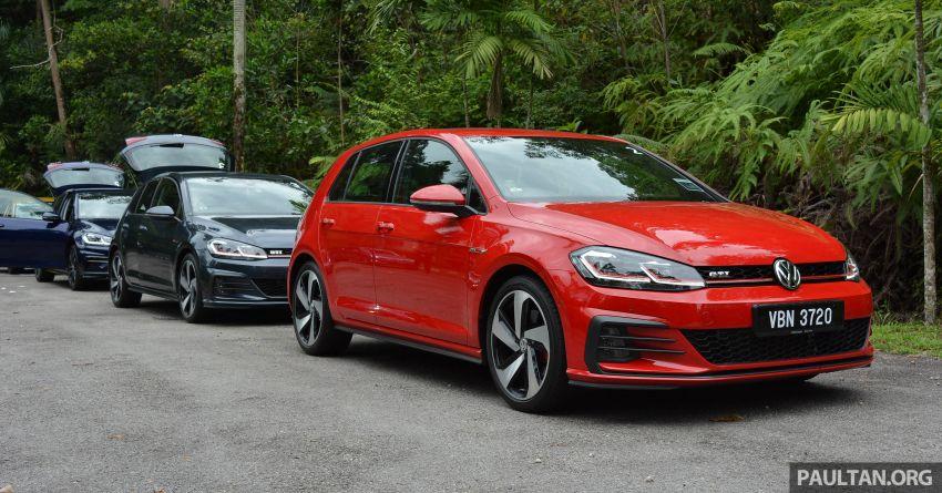 DRIVEN: Volkswagen Golf Mk7.5 – meeting all needs Image #852113