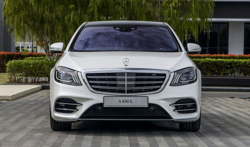W222 Mercedes-Benz S-Class facelift launched in Malaysia – S450 L, 9G-Tronic, 3.0L V6, RM699,888 Image #845662