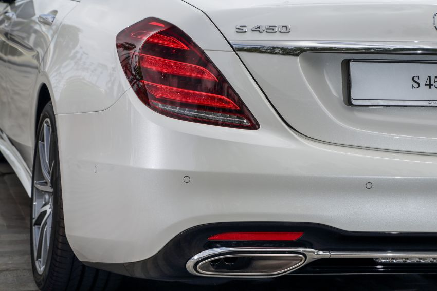 W222 Mercedes-Benz S-Class facelift launched in Malaysia – S450 L, 9G-Tronic, 3.0L V6, RM699,888 Image #845630