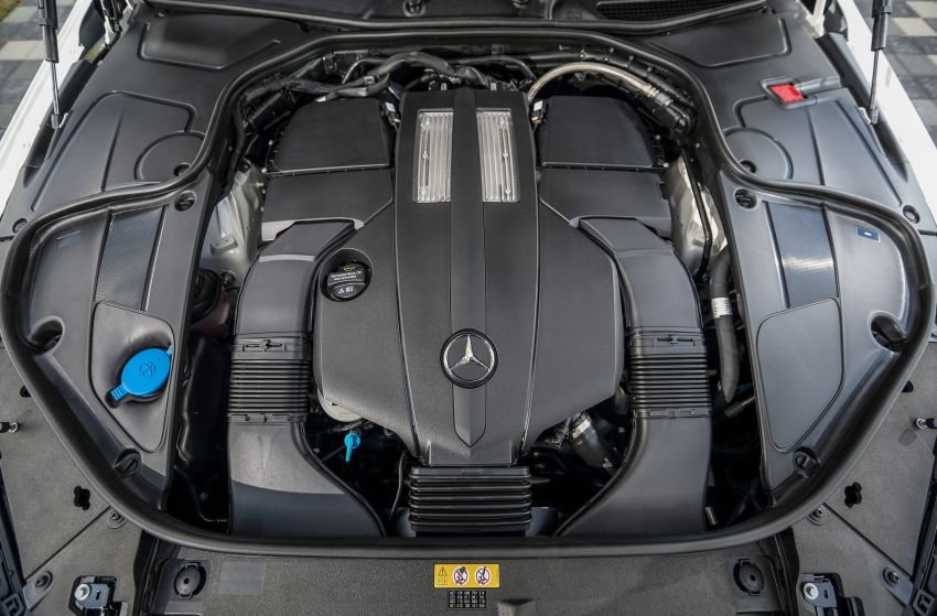 W222 Mercedes-Benz S-Class facelift launched in Malaysia – S450 L, 9G-Tronic, 3.0L V6, RM699,888 Image #845633
