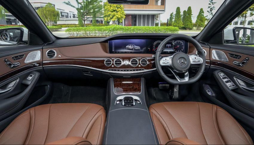 W222 Mercedes-Benz S-Class facelift launched in Malaysia – S450 L, 9G-Tronic, 3.0L V6, RM699,888 Image #845635