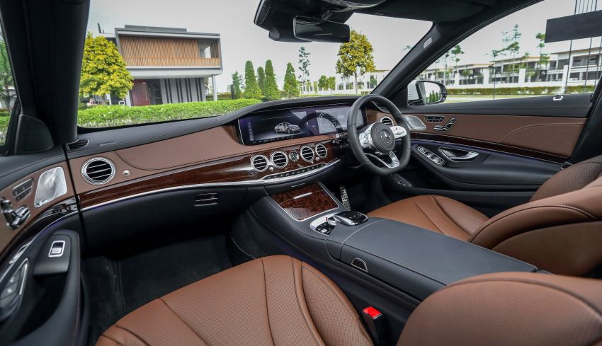 W222 Mercedes-Benz S-Class facelift launched in Malaysia – S450 L, 9G-Tronic, 3.0L V6, RM699,888 Image #845636