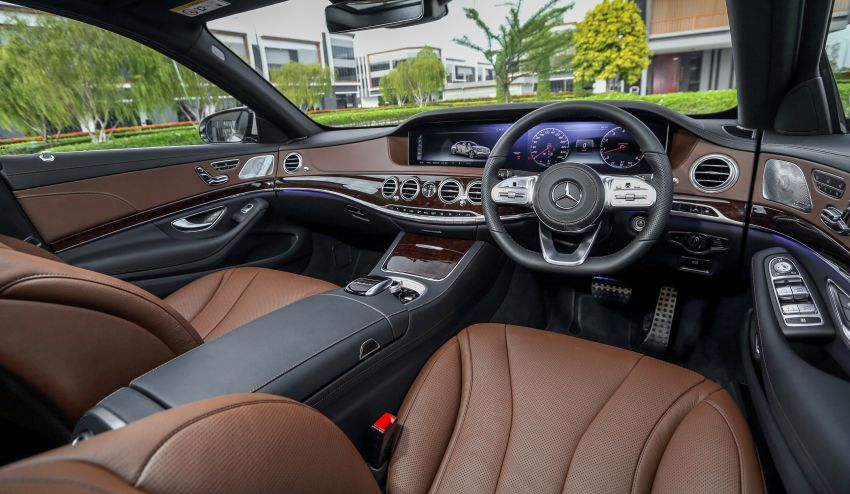 W222 Mercedes-Benz S-Class facelift launched in Malaysia – S450 L, 9G-Tronic, 3.0L V6, RM699,888 Image #845637