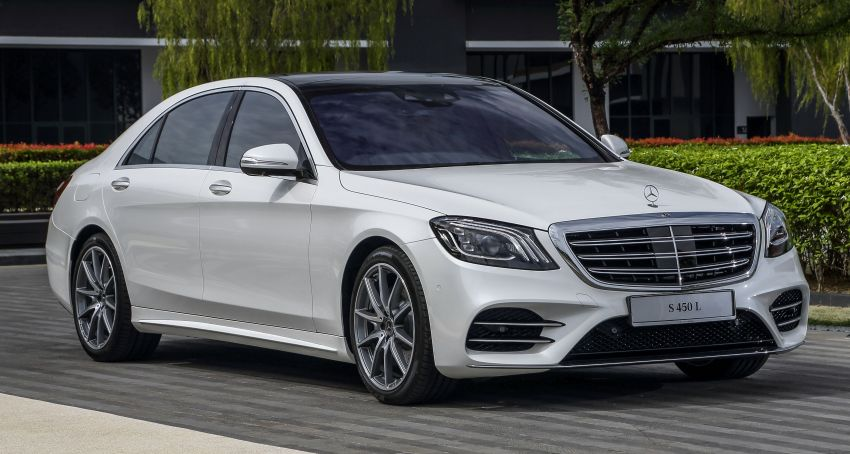 W222 Mercedes-Benz S-Class facelift launched in Malaysia – S450 L, 9G-Tronic, 3.0L V6, RM699,888 Image #845663