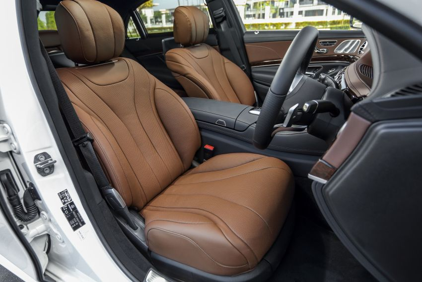 W222 Mercedes-Benz S-Class facelift launched in Malaysia – S450 L, 9G-Tronic, 3.0L V6, RM699,888 Image #845649