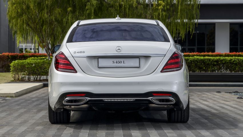 W222 Mercedes-Benz S-Class facelift launched in Malaysia – S450 L, 9G-Tronic, 3.0L V6, RM699,888 Image #845664