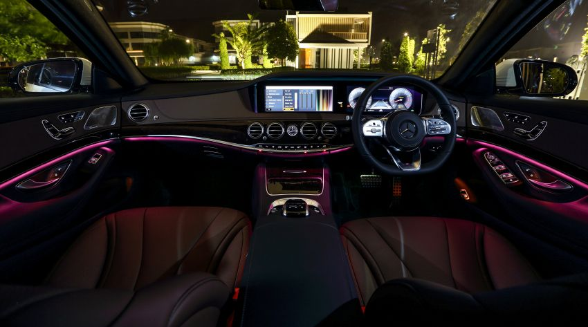 W222 Mercedes-Benz S-Class facelift launched in Malaysia – S450 L, 9G-Tronic, 3.0L V6, RM699,888 Image #845653