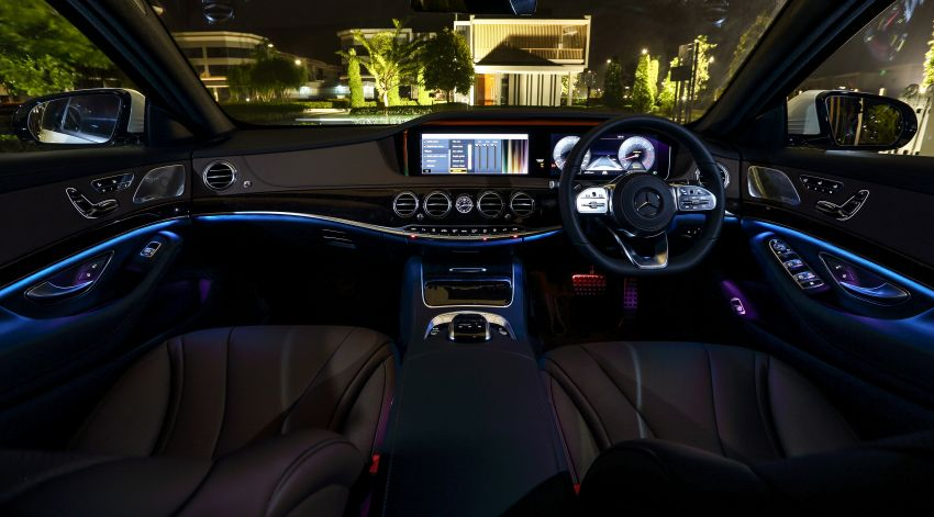 W222 Mercedes-Benz S-Class facelift launched in Malaysia – S450 L, 9G-Tronic, 3.0L V6, RM699,888 Image #845654