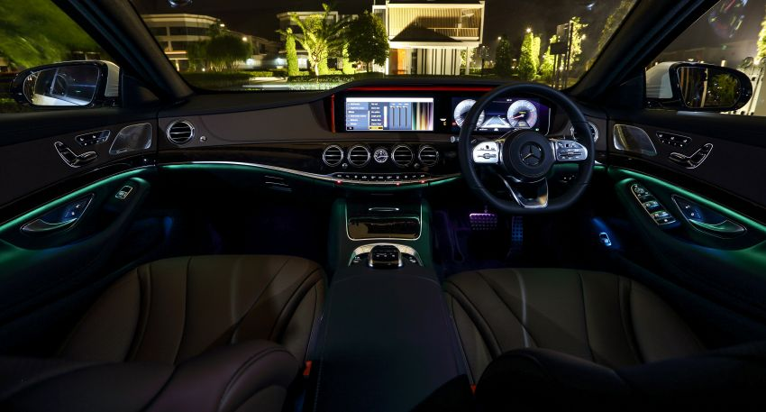 W222 Mercedes-Benz S-Class facelift launched in Malaysia – S450 L, 9G-Tronic, 3.0L V6, RM699,888 Image #845655