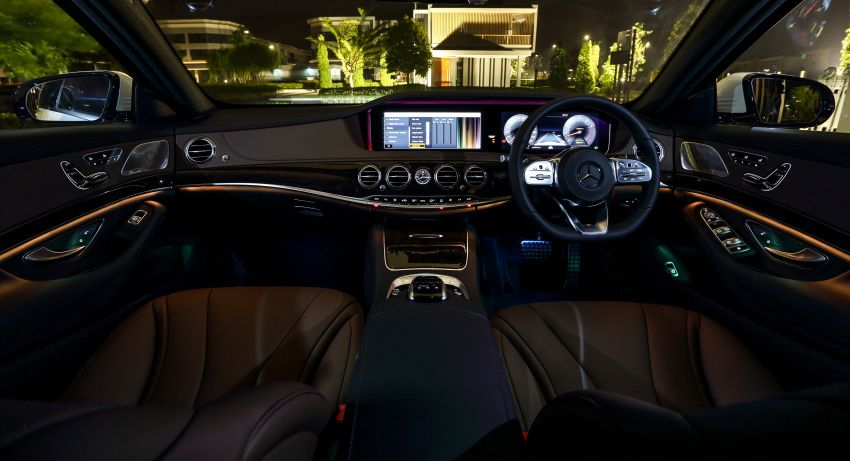 W222 Mercedes-Benz S-Class facelift launched in Malaysia – S450 L, 9G-Tronic, 3.0L V6, RM699,888 Image #845656