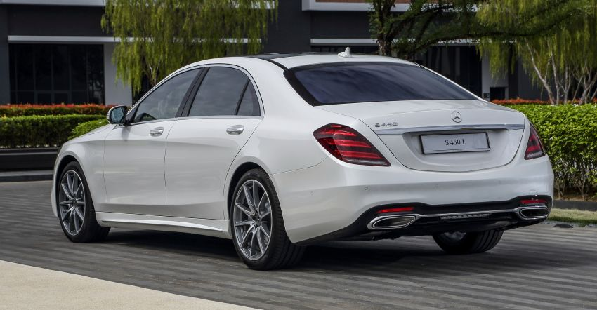 W222 Mercedes-Benz S-Class facelift launched in Malaysia – S450 L, 9G-Tronic, 3.0L V6, RM699,888 Image #845665