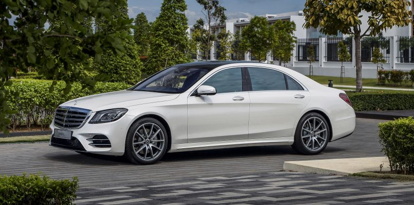 W222 Mercedes-Benz S-Class facelift launched in Malaysia – S450 L, 9G-Tronic, 3.0L V6, RM699,888 Image #845666